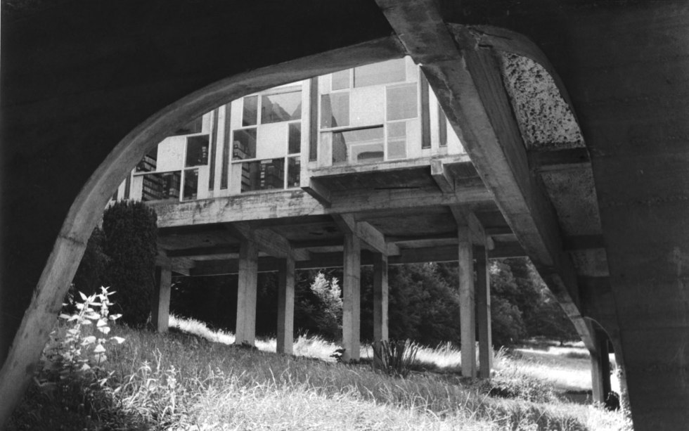 Couvent de la Tourette. Le Corbusier architect © Jerominus 1996