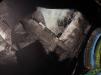 Pendule de trous blancs - detail